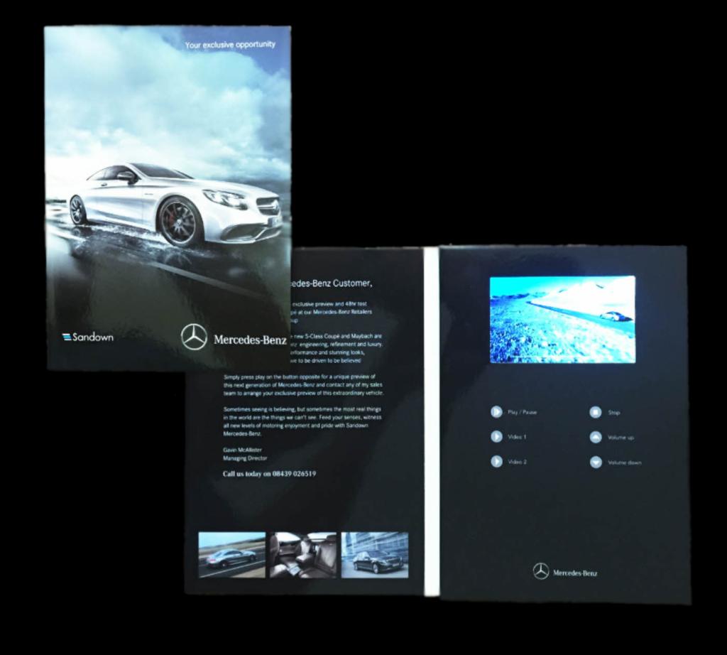 Mercedes - Benz TV In A Card